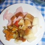 An example of a meal at Wind in the Willows childcare